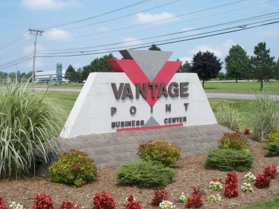 70 Vantage Point Drive signage